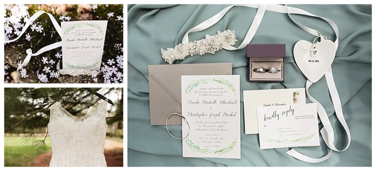 bridal accents and wedding invitations and keepsakes