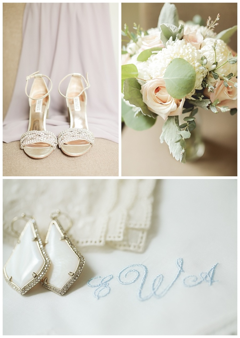 bridal accents and wedding invitations and keepsakes brides shoes and earrings