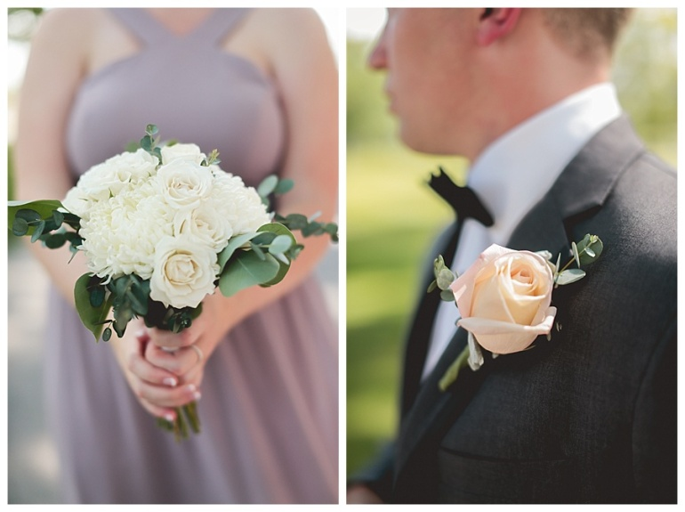 bridesmaids and bouquets and groomsmen and boutonnieres