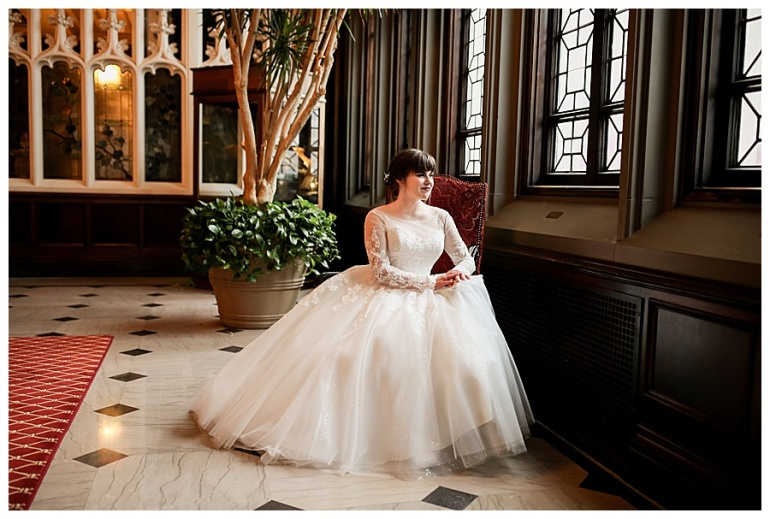 columbia-club-indianapolis-bride-dress-photography-window-portrait
